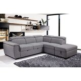 Dalit 104 Right Hand Facing Sleeper Sofa & Chaise with Ottoman by Latitude Run®