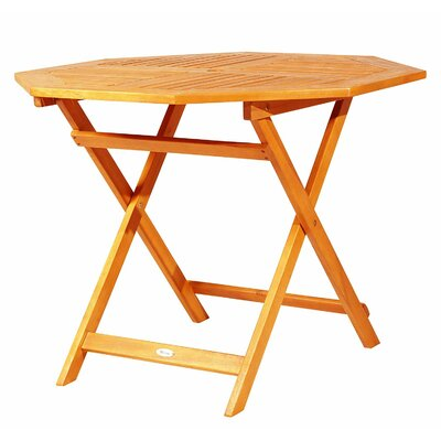 Sanner Folding Wooden Bistro Table by Millwood Pines 2020 Online