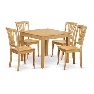 Oxford 5 Piece Dining Set by Wooden Importers