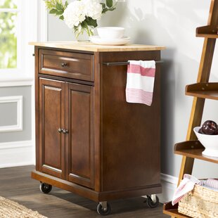 Save & Wood Storage Cart With Drawers | Wayfair