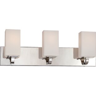 Latitude Run Tarver 3-Light Vanity Light