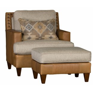 Bloomsbury Market Huddle Club Chair and Ottoman