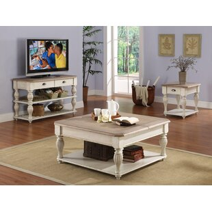Lark Manor Quevillon Coffee Table Set
