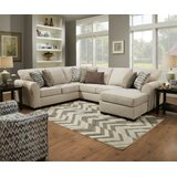 Herdon Left Hand Facing Sleeper Sectional by Alcott Hill®