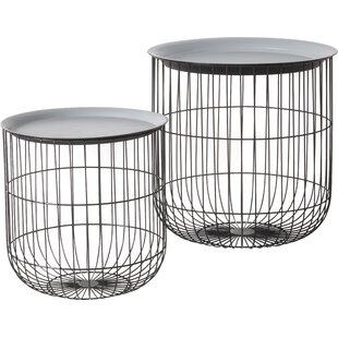 Sundee 2 Piece Nest Of Tables By Bloomsbury Market