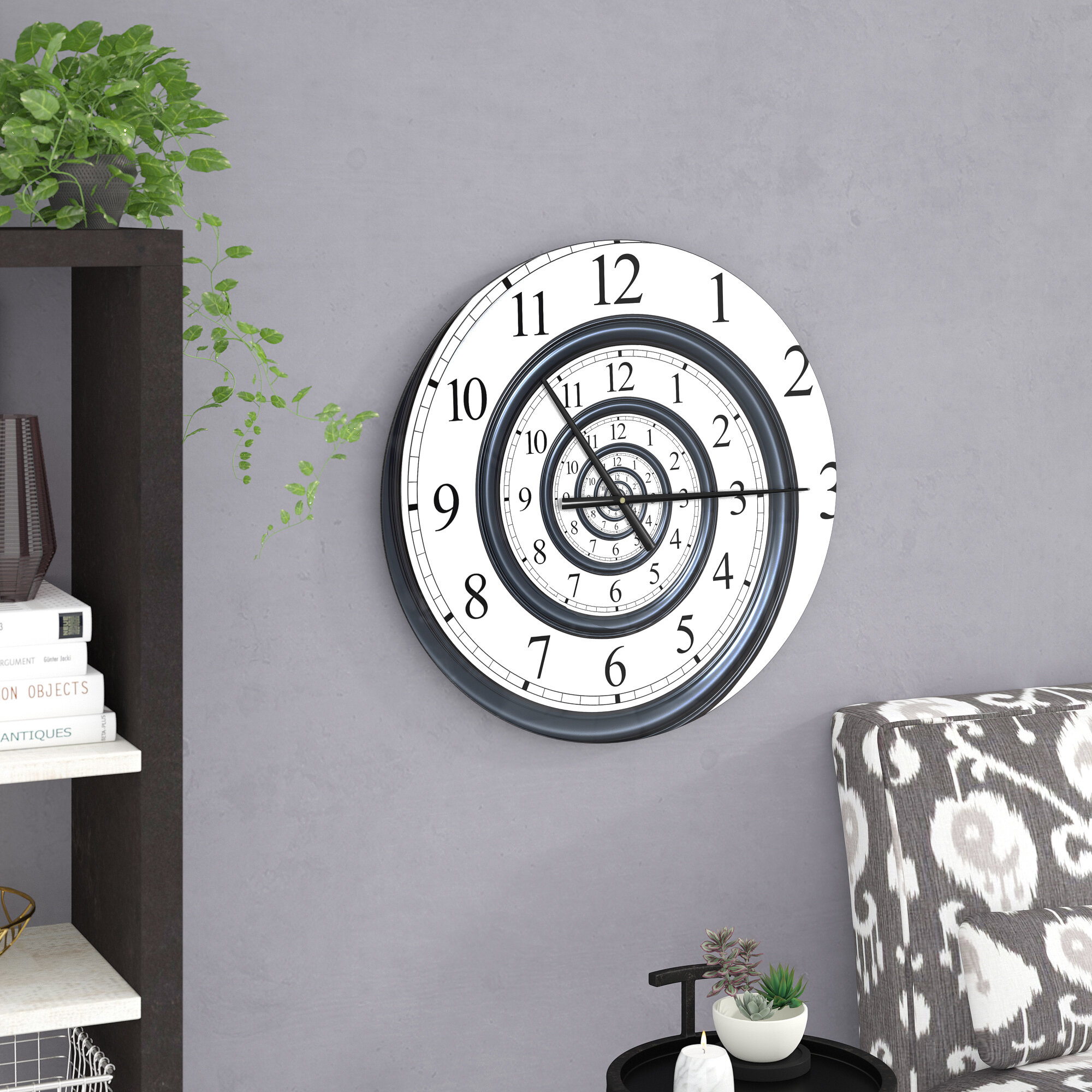 Modern Contemporary White Wall Clocks You Ll Love In 2020