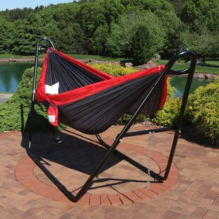 Teresa Camping Hammock With Stand by Freeport Park Bargain