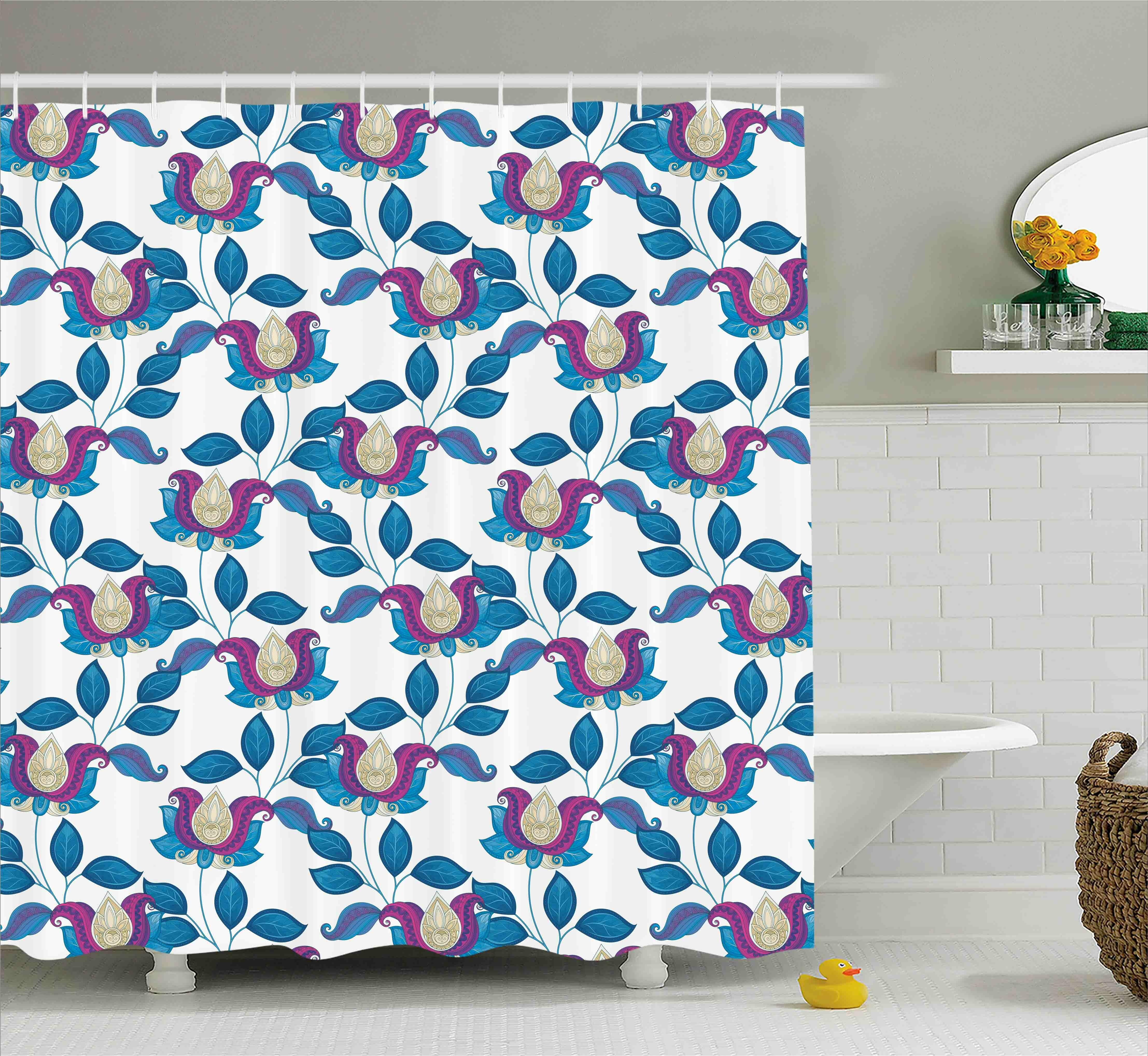 Bungalow Rose Coyne Vibrant Vintage Shabby Shower Curtain | Wayfair