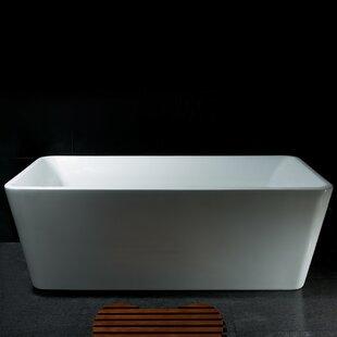 Great choice 66.93 x 33.46 Soaking Bathtub ByAKDY