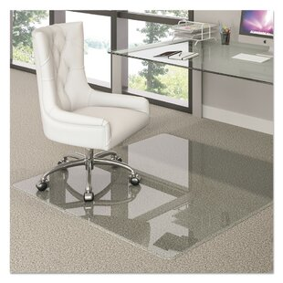 Hard Floor Straight Edge Chair Mat By Deflect-O Corporation