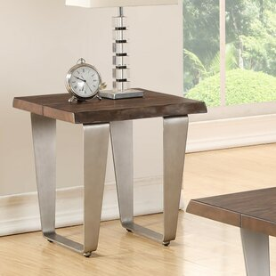 Affordable Gomez End Table by Ivy Bronx