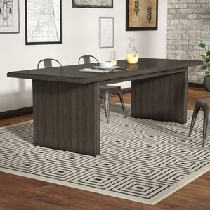 Norton Contemporary Dining Table by 17 Stories