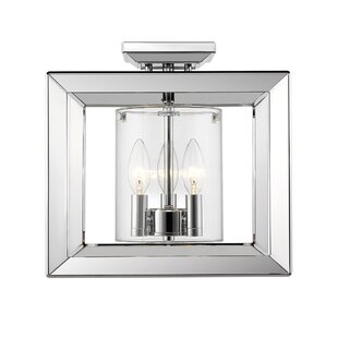 Thorne 3-Light Semi Flush Moun..