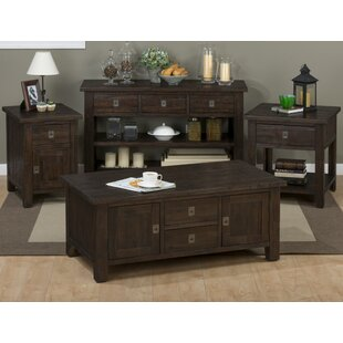 Cadwallader 4 Piece Coffee Table Set