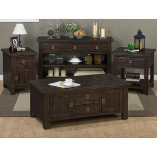 Cadwallader 4 Piece Coffee Table Set