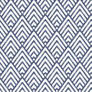 Arrowhead 55m L X 52cm W Geometric Roll Wallpaper