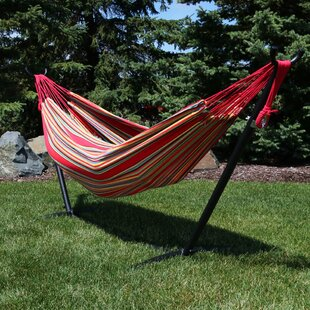 Freeport Park Rylie Cotton Hammock with Stand