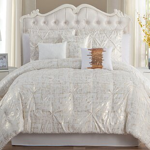 Tinley 7 Piece Comforter Set by House of Hampton Modern