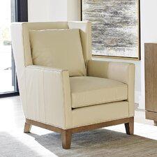Shadow Play Atlas Leather Arm Chair by Lexington