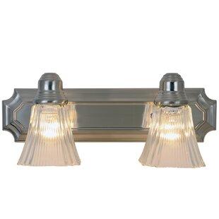 Best Reviews Decorative 2-Light Vanity Light By Monument