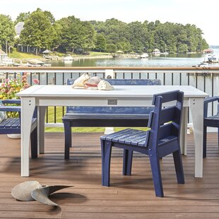Jarrett Bay Solid Wood Dining Table by Uw..