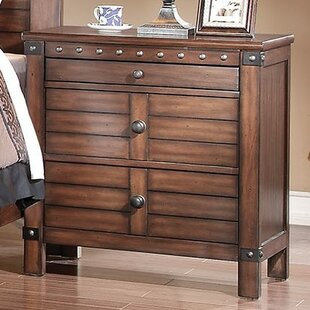 Arthur 3 Drawer Nightstand by Longshore Tides