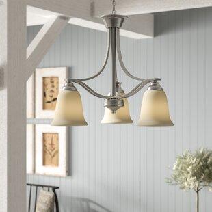 Laurel Foundry Modern Farmhouse Hullinger 3-Light Shaded Chandelier
