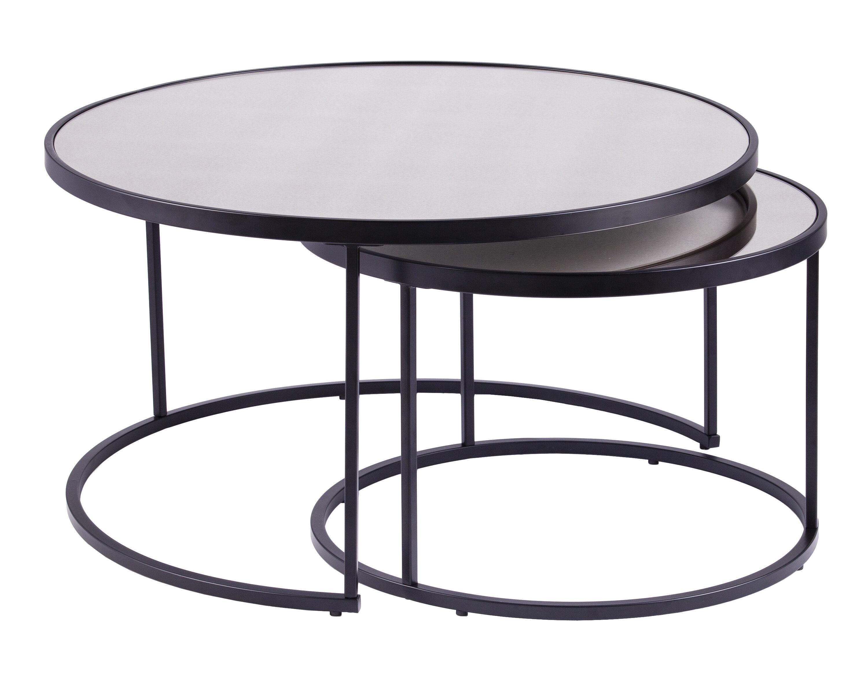 Mercer41 Downham 2 Piece Coffee Table Set Reviews Wayfair Ca