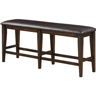 Gumm Faux Leather Bench by Charlton Home
