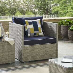 Heinrich Patio Chair with Cushions