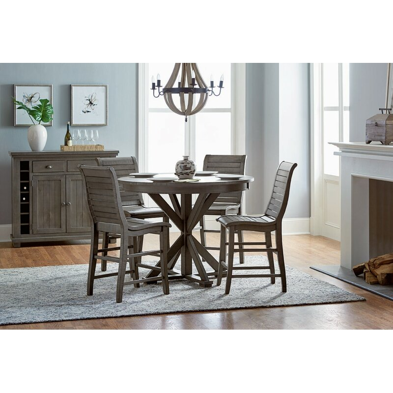 White Cane Outdoor Furniture, Lark Manor Epine Round Counter Height Dining Table Reviews Wayfair