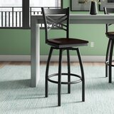 Chafin Swivel 30.25 Bar Stool by Winston Porter