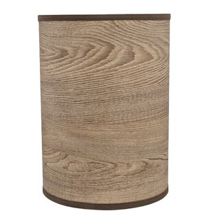 Searching for Spider 8 Linen Drum Lamp Shade By Millwood Pines