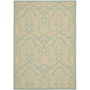Bexton Blue/White Indoor/Outdoor Area Rug
