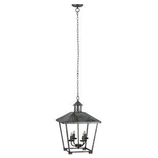 Williston Forge Mccluskey Frey 4-Light Lantern Pendant