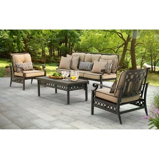 Darby Home Co Derry 4 Piece Sofa Set with Cushions