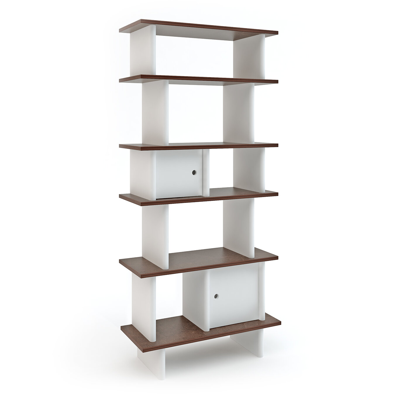peixoto design wooden luisa product contemporary vertical bookcases bookcase prod