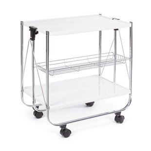 Jennifer Folding Utility Cart By Symple Stuff