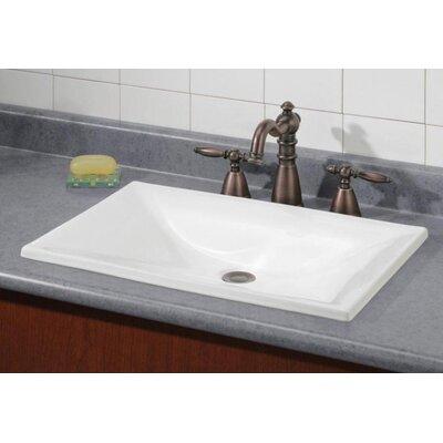 estoril self rimming bathroom sink
