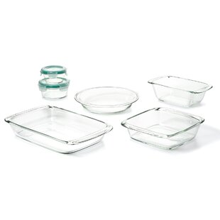 Good Grips 8 Piece Glass Bake, Serve and Store Set