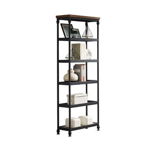 Hogans Etagere Bookcase by Williston Forge