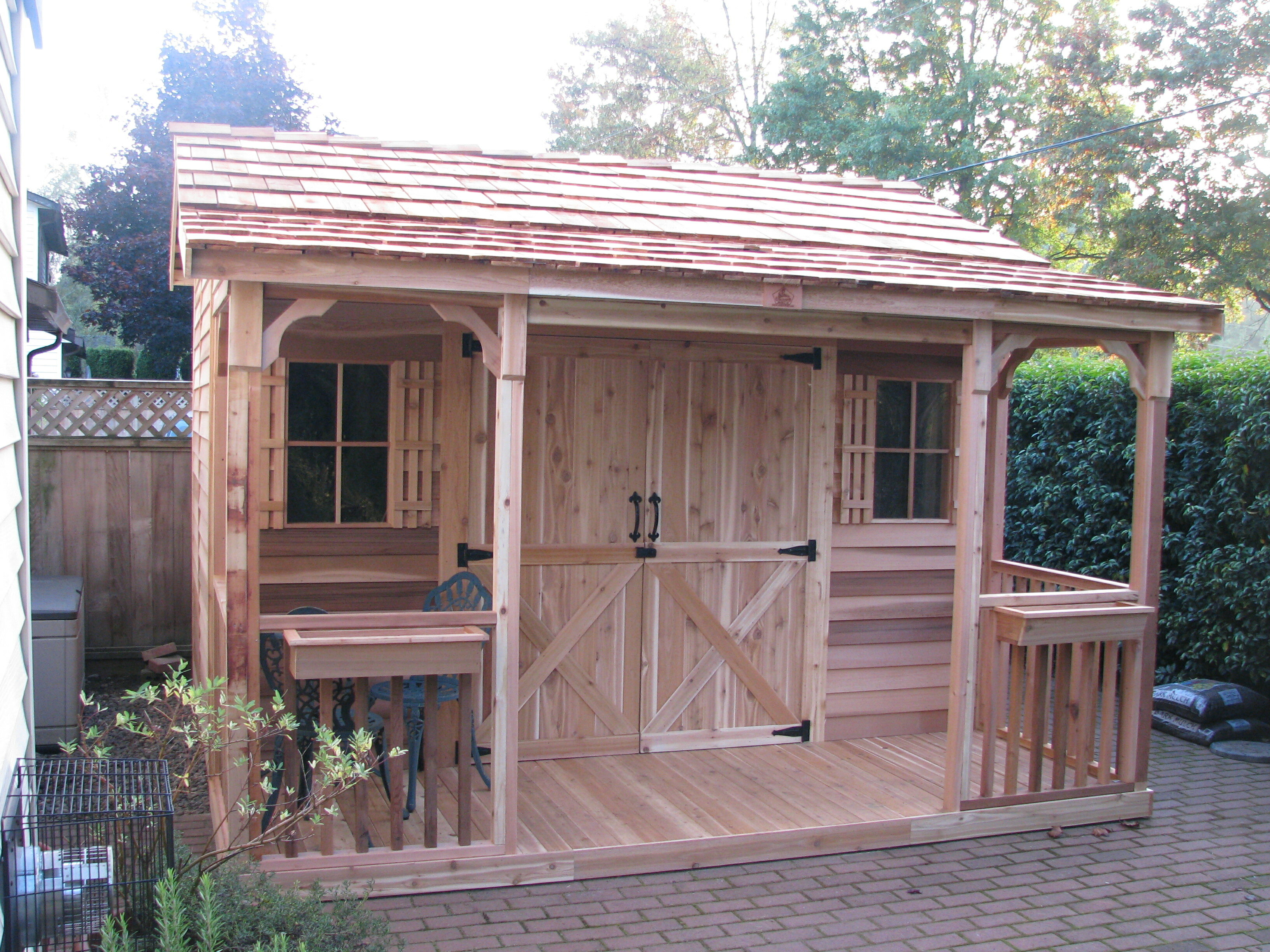 Cedarshed Ranchhouse 12 Ft W X