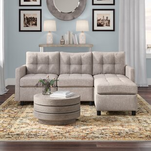 Roxy Reversible Modular Sectional with Ottoman by Brayden Studio