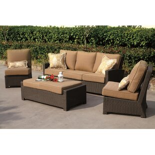 Alcott Hill Stockholm 4 Piece Sofa Set with Cushions