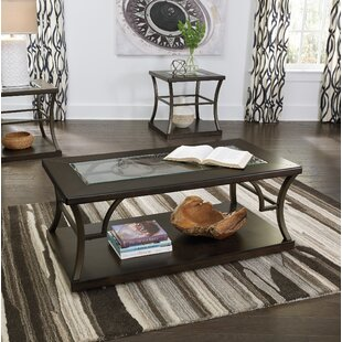 Stave 3 Piece Coffee Table Set by Latitude Run