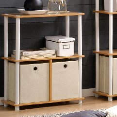 Kauffman Etagere Bookcase (Set of 2) by Rebrilliant