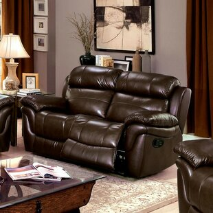 Best Price Serigne Leather Loveseat by Red Barrel Studio Reviews (2019) & Buyer's Guide