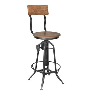 Tricia Swivel Bar Stool By Williston Forge