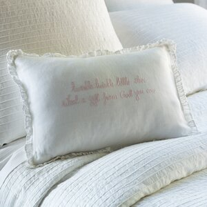 Twinkle Twinkle Little Star Linen Lumbar Pillow