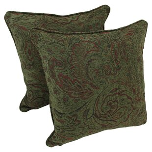 Chenille Throw Pillow (Set of 2)